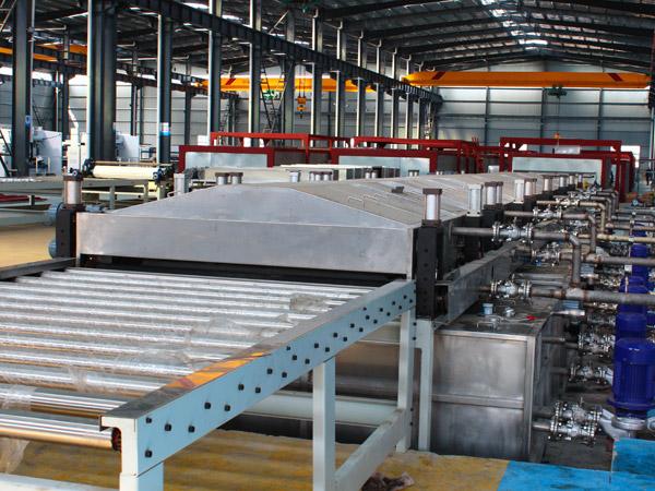 木纹彩涂铝板板材生产线