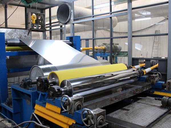 铝镁锰彩涂铝板卷材生产线