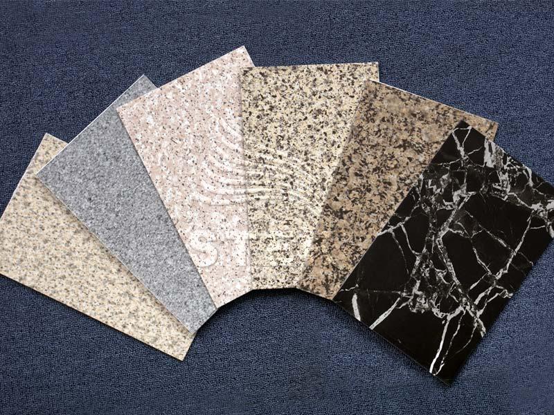 石纹彩涂铝板卷材生产线